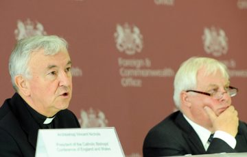 Lord Patten and Archbishop Nichols on preparations for the Papal Visit