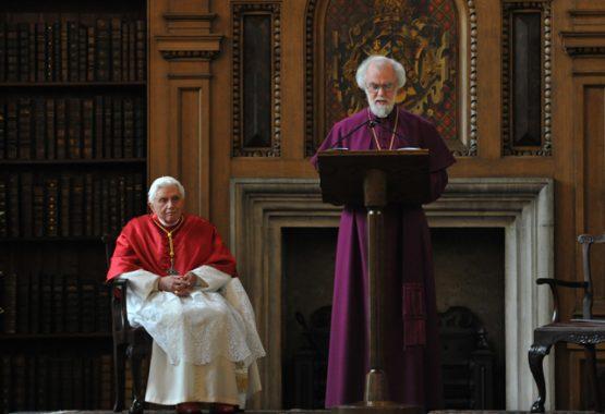 Archbishop of Canterbury's Speech to Pope Benedict