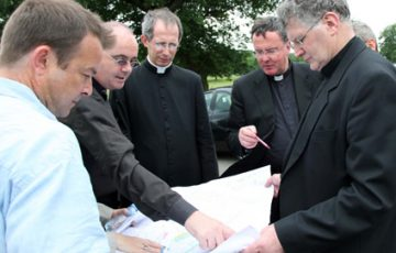 Visitors from Rome in Birmingham to plan Newman Liturgy