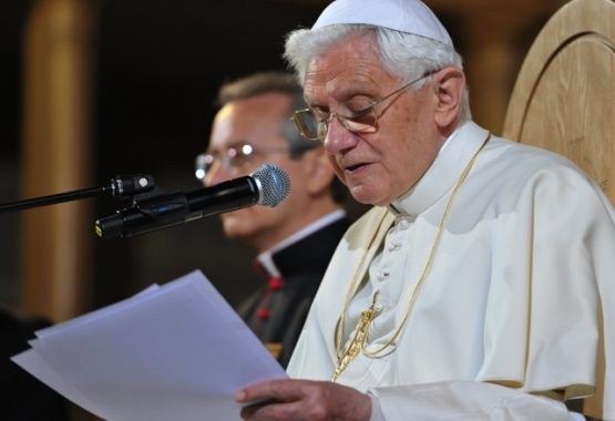 Pope Benedict addresses Teachers and Religious