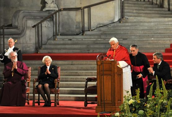 Pope Benedict's address to Politicians, Diplomats, Academics and Business Leaders