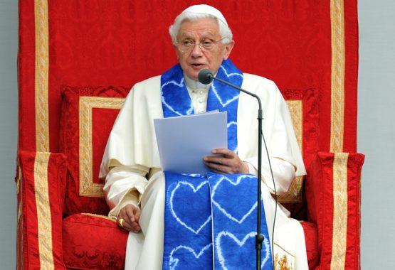 Pope Benedict's address to pupils