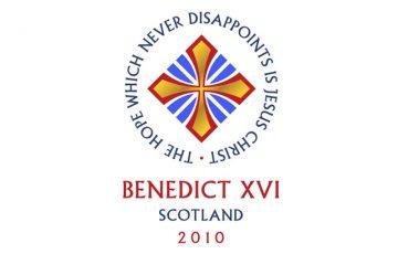 Scotland's Papal Visit logo launched