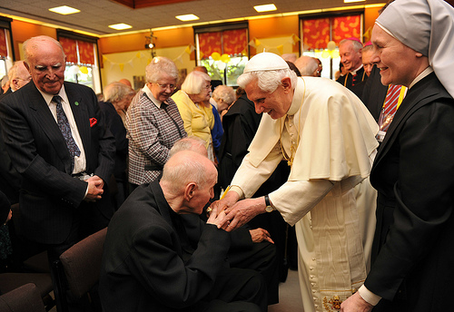 Pope Benedict's Speech to St Peter's Residents and Staff